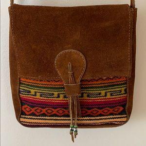 True Ecuadorian satchel made from Alpaca!